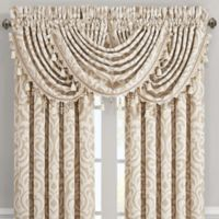 J. Queen New York™ Milano Waterfall Window Valance in Sand