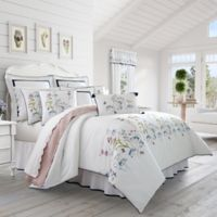 Piper & Wright Betsy King Comforter Set in White