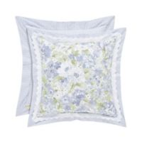 Piper & Wright Flowerbed 16-Inch Square Throw Pillow