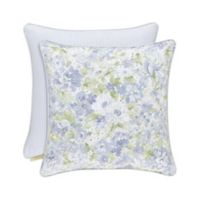 Piper & Wright Flowerbed 20-Inch Square Throw Pillow in Blue