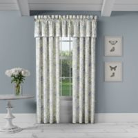 Piper & Wright Flowerbed Window Valance in Blue