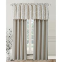 Declan 84-Inch Rod Pocket Window Curtain Panel Pair in Natural