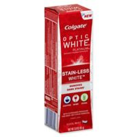 Colgate® Optic White® Platinum Stain-Less White™ 3 oz. Toothpaste in Cool Mint