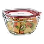 Rubbermaid® 11.5 Cup Square Glass Food Storage Containers with Easy-Find Lid