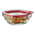 Rubbermaid® 2.5 Cup Square Glass Food Storage Containers with Easy-Find Lid