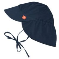 Lassig™ Size 18-36M Sun Protection Flap Hat in Navy