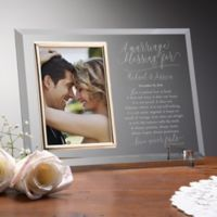 Wedding Blessing Personalized Reflections Frame
