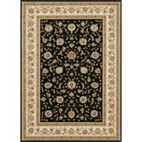 Loloi Rugs Welbourne 11'2 x 14'6 Area Rug in Black/Ivory