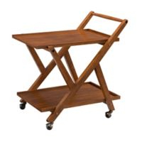 Southern Enterprises Epler Bar Cart in Maple
