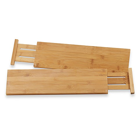 kitchen drawer dividers lipper international bamboo kitchen drawer dividers set 11624
