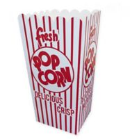 Great Northern Popcorn 50-Count 32 oz. Popcorn Boxes in Red