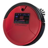 bObsweep PetHair Robotic Vacuum Cleaner and Mop in Rouge