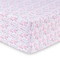 Trend Lab® Painterly Floral Deluxe Flannel Fitted Crib Sheet