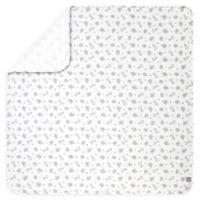 Trend Lab® Safari Chevron Deluxe Flannel Swaddle Blanket in Grey/White