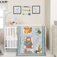 Trend Lab® Lodge Buddies 3-Piece Crib Bedding Set