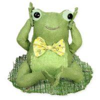 Northlight Hear No Evil Sitting Frog Spring Tabletop Decoration