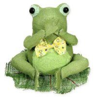 Northlight Speak No Evil Sitting Frog Spring Tabletop Decoration