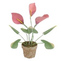 Northlight 19-Inch Calla Lily Artificial Plant