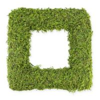 Northlight® 14-Inch Artificial Square Moss Wreath