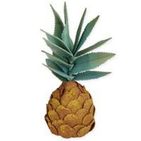 11-Inch Artificial Orange Pineapple Decor
