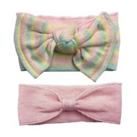 NYGB™ 2-Piece Bow Headband Set