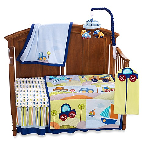 Lambs Amp Ivy 174 Little Travelers 7 Piece Crib Bedding Set And