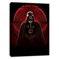 Star Wars™ Vader Glowing Death Star Canvas Wall Art