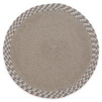 Melange Braided Placemat in Grey