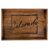 Core™ Home Colorado Rectangular Serving Tray in Tan