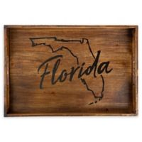 Core™ Home Florida Rectangular Serving Tray in Tan