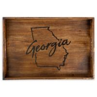 Core™ Home Georgia Rectangular Serving Tray in Tan