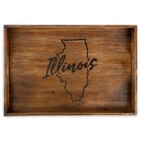 Core™ Home Illinois Rectangular Serving Tray in Tan