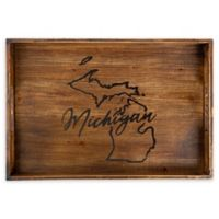 Core™ Home Michigan Rectangular Serving Tray in Tan