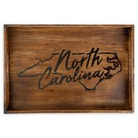Core™ Home North Carolina Rectangular Serving Tray in Tan