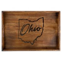 Core™ Home Ohio Rectangular Serving Tray in Tan