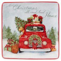 Certified International Home for Christmas Susan Winget Dinner Plates (Set of 4)