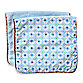 Caden Lane® Modern Vintage Octagon 2-Pack Burp Cloths in Blue