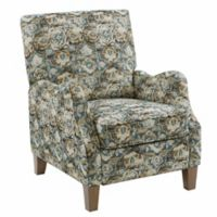 Madison Park™ Upholstered Convertible Recliner in Blue/multi