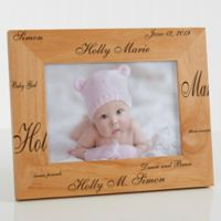 New Arrival Personalized 5-Inch x 7-Inch Baby Frame