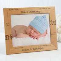 New Arrival Personalized 8-Inch x 10-Inch Baby Frame