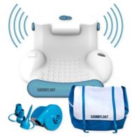 Soundfloat Arm Chair Pool Float in Blue