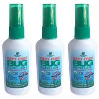 Greenerways Organic™ 3 Pack 2 oz. Bug Repellent