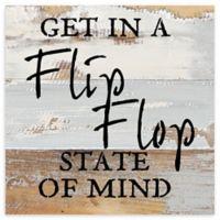 Sweet Bird & Co. Flip Flop State of Mind Reclaimed Wood Wall Art