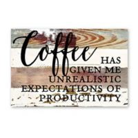 Sweet Bird & Co. Coffee Gives Me Reclaimed Wood Wall Art