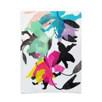 Deny Designs Lily I Mulitcolor Poster Wall Art
