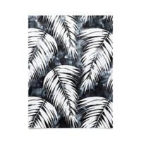 Deny Designs Schatzi Brown Maui Palm 18-Inch x 24-Inch Poster in Black