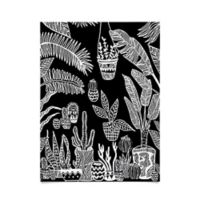 Deny Designs Botanical Garden 18-Inch x 24-Inch Poster Wall Art