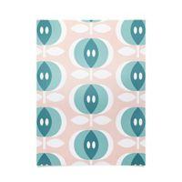 Deny Designs Caroline Okun Fjalla Petal Pink Fabric Poster