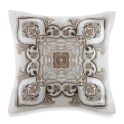 Echo Design Throw Pillows : Buy Echo Design Odyssey Square Throw Pillow in Neutral from Bed Bath & Beyond