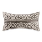Echo™ Odyssey Print Oblong Throw Pillow in Stone